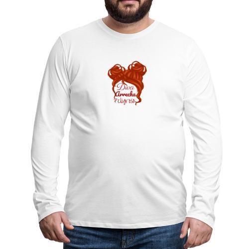 Diva - Camiseta de manga larga premium hombre