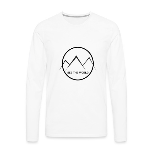 Lake The World - Men's Premium Longsleeve Shirt