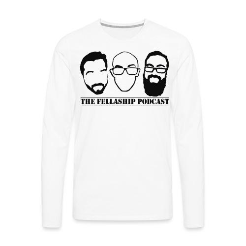 The Fellaship podcast logo - Men's Premium Longsleeve Shirt
