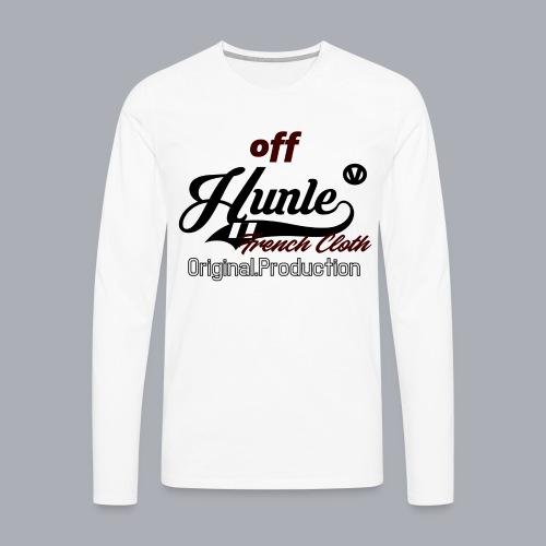 Hunle Veritable Collection n°2 - T-shirt manches longues Premium Homme