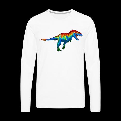T-Rex - Men's Premium Longsleeve Shirt