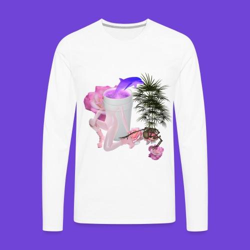 Purple Drank - Maglietta Premium a manica lunga da uomo