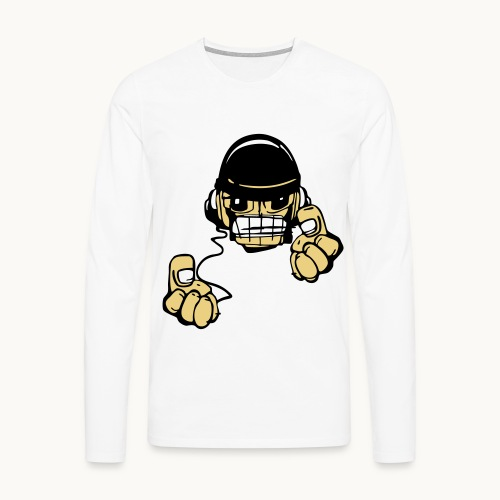 Micky DJ - T-shirt manches longues Premium Homme