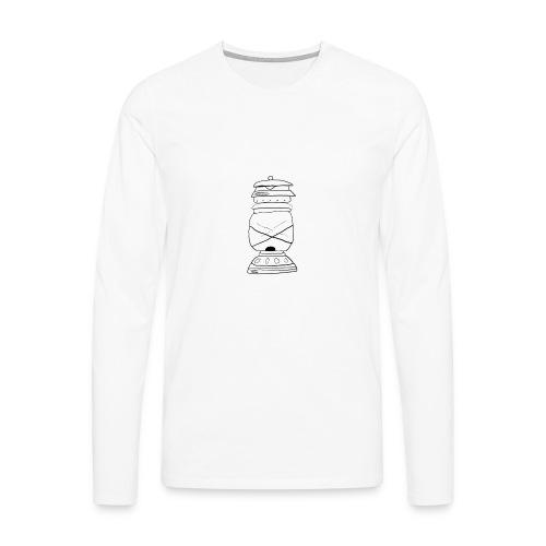 lampada olio oil lamp - Maglietta Premium a manica lunga da uomo