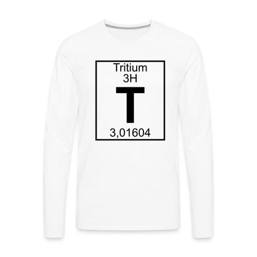 T (tritium) - Element 3H - pfll - Men's Premium Longsleeve Shirt