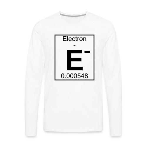 E (electron) - pfll - Men's Premium Longsleeve Shirt
