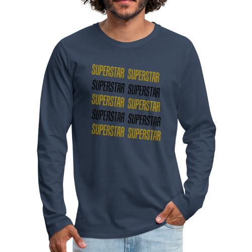 Superstar - Männer Premium Langarmshirt