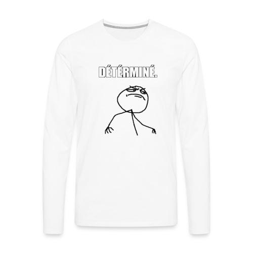 DÉTÉRMINÉ. - T-shirt manches longues Premium Homme