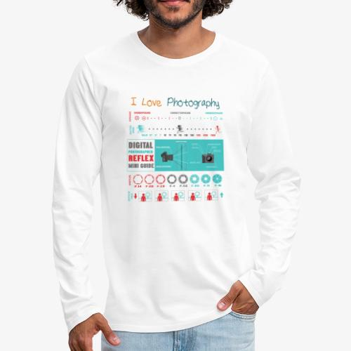 Photography 4 - Camiseta de manga larga premium hombre