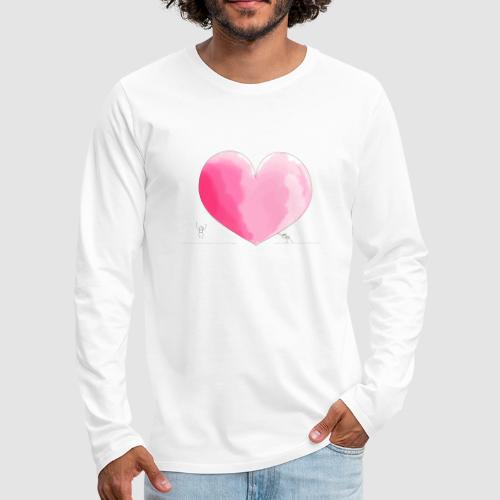 spread your love - Männer Premium Langarmshirt