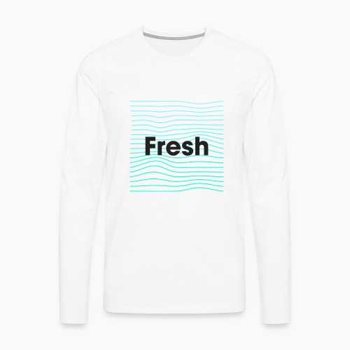 Fresh - noir - T-shirt manches longues Premium Homme