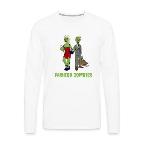 Fashion Zombie - Men's Premium Longsleeve Shirt
