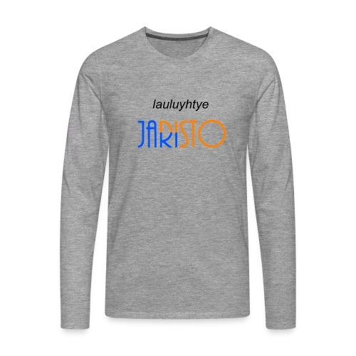 JaRisto Lauluyhtye - Miesten premium pitkähihainen t-paita