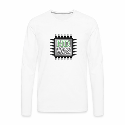 HDwZone - Maglietta Premium a manica lunga da uomo