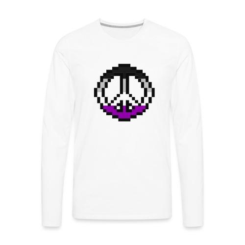 asexual pacific stripe - Männer Premium Langarmshirt
