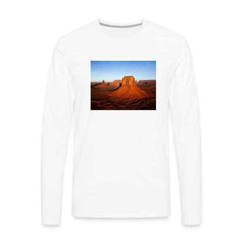 Desert - Camiseta de manga larga premium hombre