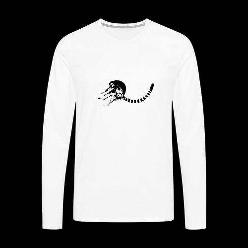 Jumping Katta - Männer Premium Langarmshirt