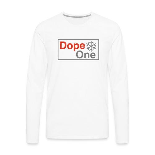 Dope One - Männer Premium Langarmshirt