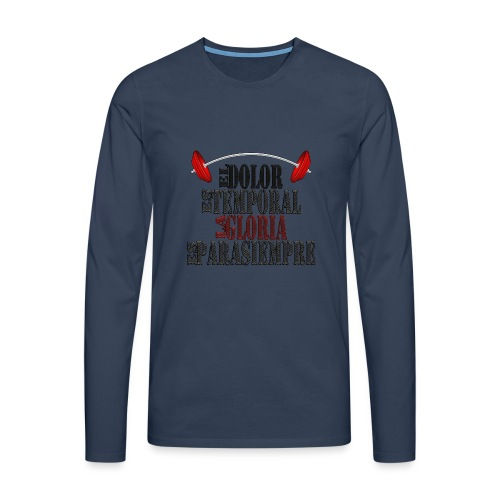 GYM - DOLOR TEMPORAL - Camiseta de manga larga premium hombre