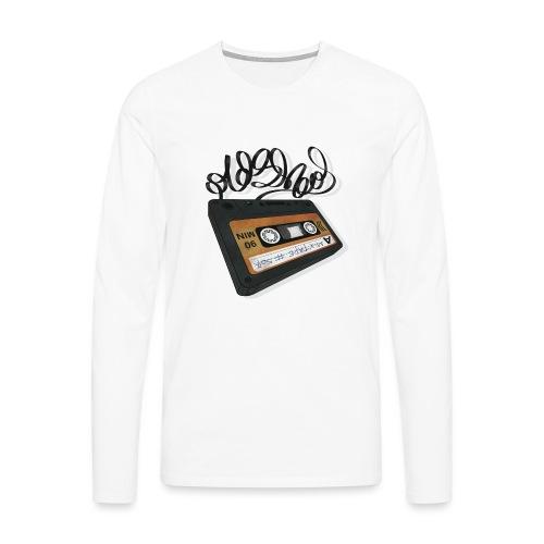 Oldschool Mixtape 507 - Herre premium T-shirt med lange ærmer