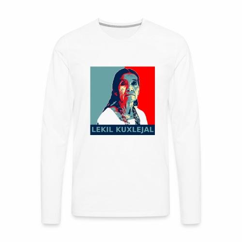Lekil Kuxlejal - Camiseta de manga larga premium hombre