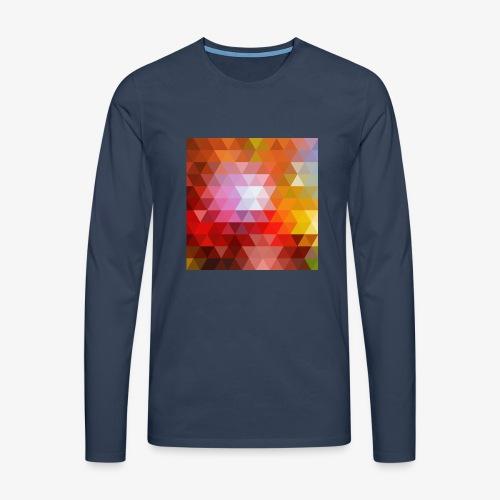 TRIFACE motif - T-shirt manches longues Premium Homme