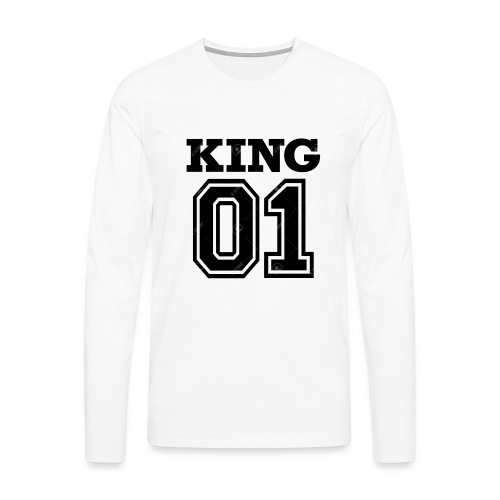 King 01 - T-shirt manches longues Premium Homme