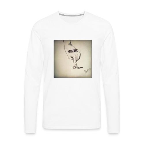 DerHardstyle.ch Hard_Core Techno - Männer Premium Langarmshirt