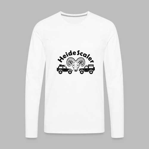Heide Scaler black HQ - Männer Premium Langarmshirt