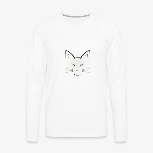 Katze - Männer Premium Langarmshirt