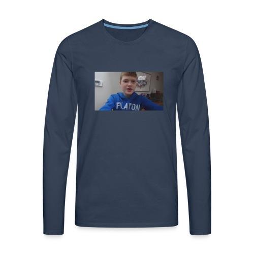 roel t-shirt - Mannen Premium shirt met lange mouwen