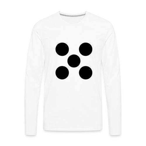 Dado - Camiseta de manga larga premium hombre
