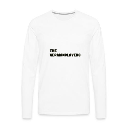 TITLE ONLY 4 FANS - Männer Premium Langarmshirt