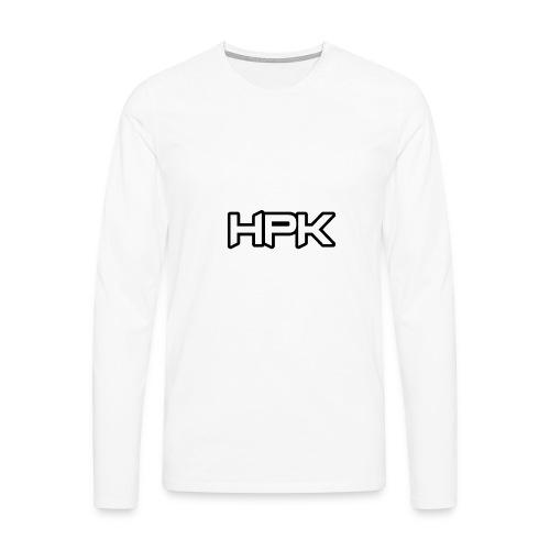 Het play kanaal logo - Mannen Premium shirt met lange mouwen