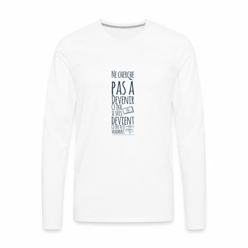 Punchline - T-shirt manches longues Premium Homme