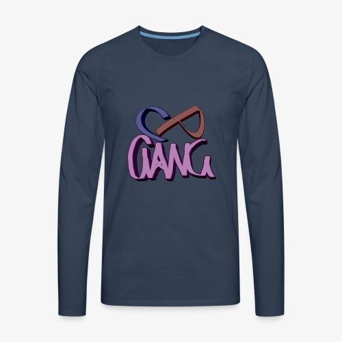 CP Gang - Miesten premium pitkähihainen t-paita