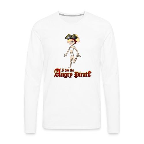 The Angry Pirate (Man) - Männer Premium Langarmshirt