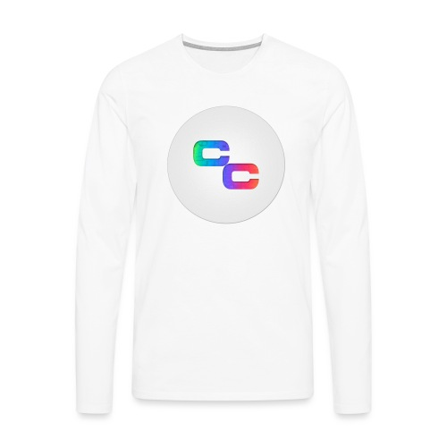 Callum Causer Rainbow - Men's Premium Longsleeve Shirt