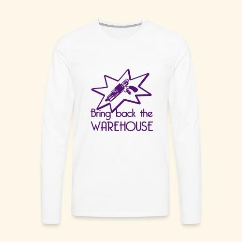 Bring Back the Warehouse Warehouse 13 Shirts - Men's Premium Longsleeve Shirt