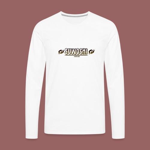 Suwoshi Streetwear - Mannen Premium shirt met lange mouwen