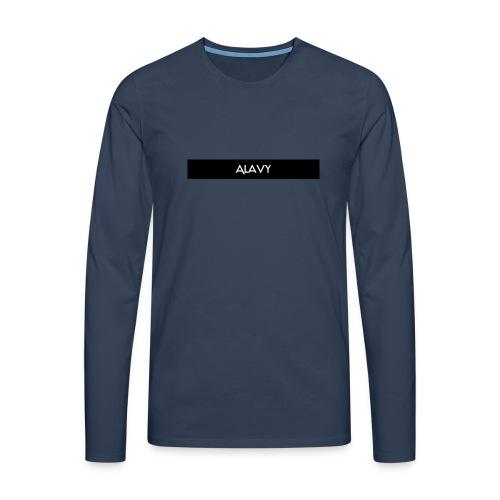Alavy_banner-jpg - Mannen Premium shirt met lange mouwen