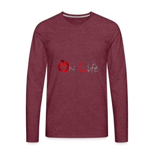 OnLife Logo - T-shirt manches longues Premium Homme