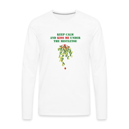 Under the mistletoe - Männer Premium Langarmshirt