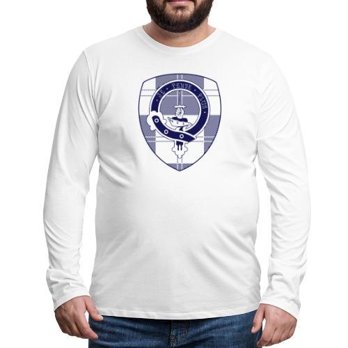 Logo Scouting Erskine 2018 - Mannen Premium shirt met lange mouwen