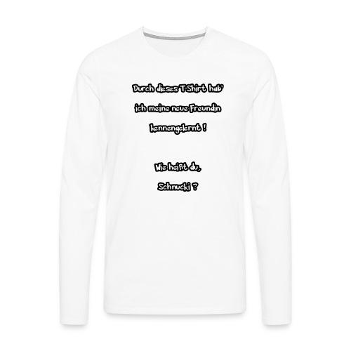 Schnucki - Männer Premium Langarmshirt