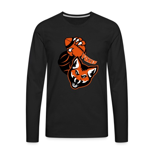 Foxes Rugby - T-shirt manches longues Premium Homme