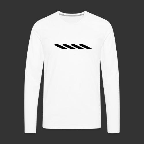 Rope With Bite Logo - Men's Premium Longsleeve Shirt