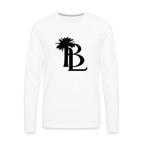 bllogo-png - Herre premium T-shirt med lange ærmer