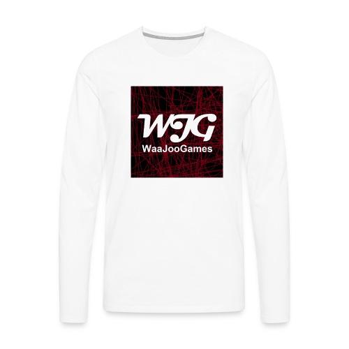 T-shirt WJG logo - Mannen Premium shirt met lange mouwen