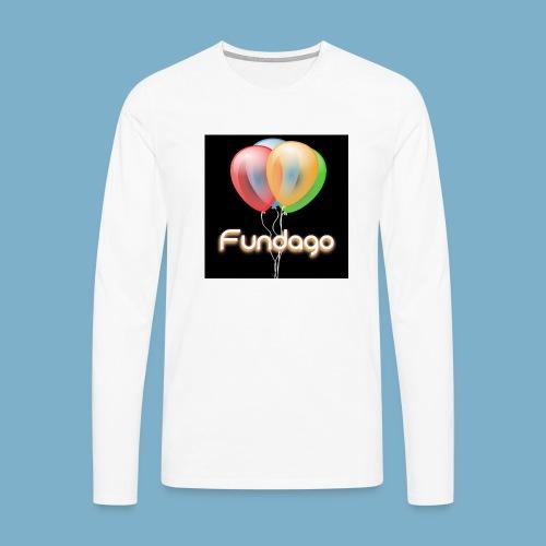 Fundago Ballon - Männer Premium Langarmshirt